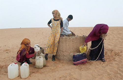 Western Sahara Refugees Camp